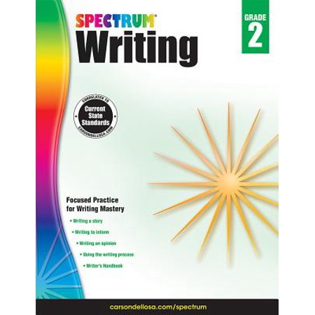 Spectrum Writing, Grade 2 - Halloween Writing Activity Grade 2