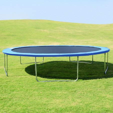 15FT Trampoline Combo Bounce Jump Safety Enclosure Net W/Spring Pad Ladder - image 6 of 10