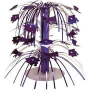 Purple Graduation Mini Cascade Centerpiece