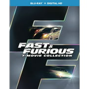 Fast and Furious 7-movie Collection (Blu-ray + Digital Copy) by