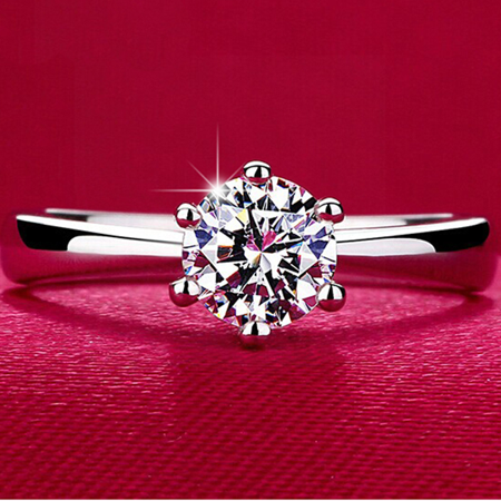 F.S. Angel Promise Ring - image 1 of 6