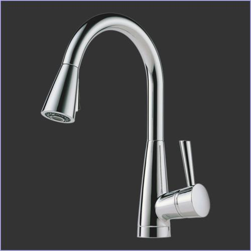 Brizo 63070LF-SS Stainless Venuto Single Handle Pull-Down Ki