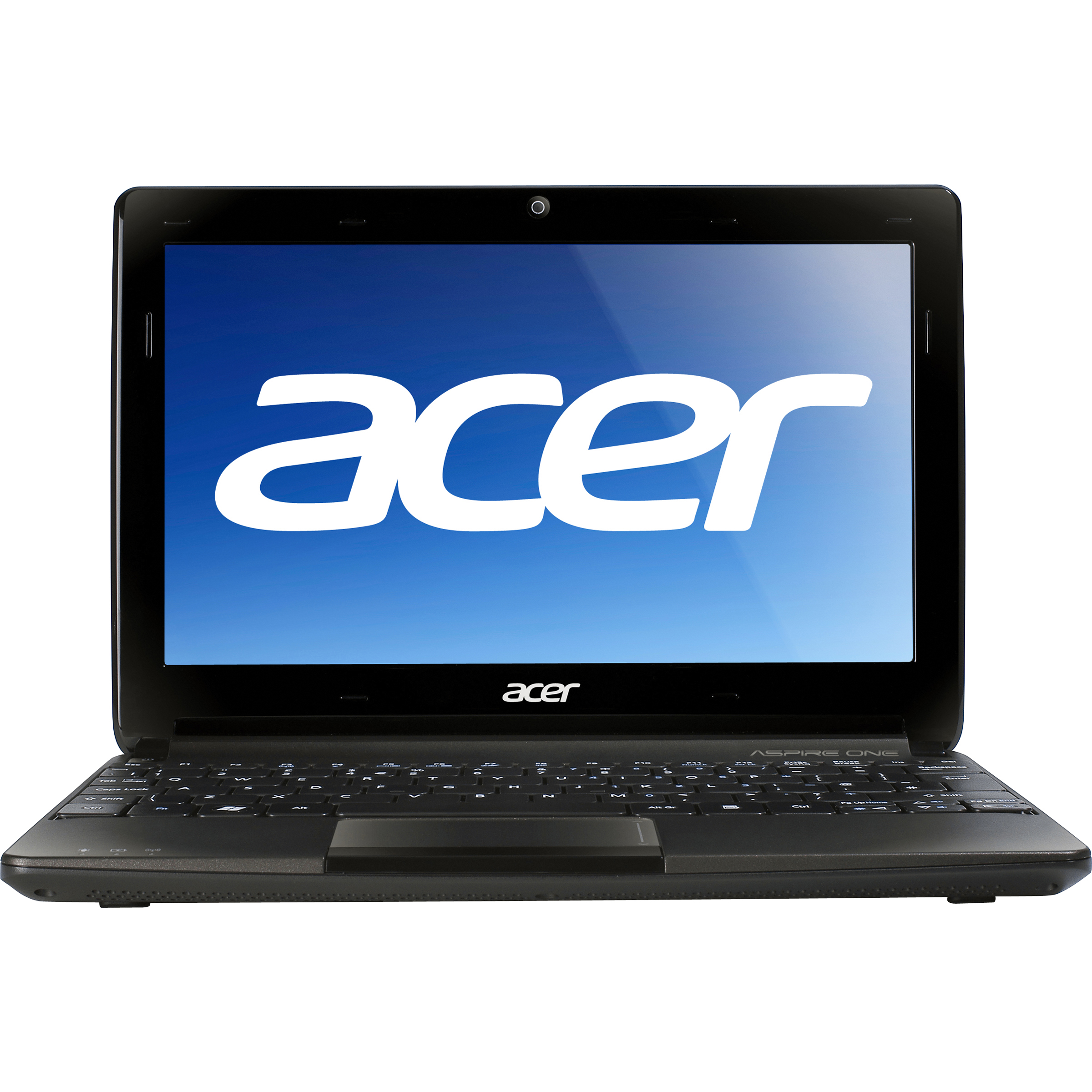 "Acer Espresso Black 10.1"" Aspire One AOD270-1410 Netbook PC with Intel Atom Dual-Core N2600 Processor with 6-cell battery and Windows 7 Starter"
