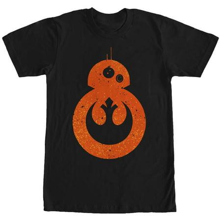 Star Wars The Force Awakens Mens Bb 8 Rebel T Shirt