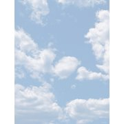 """Great Papers® Clouds Stationery Letterhead, 8.5"""" x 11"""", 80 count"""