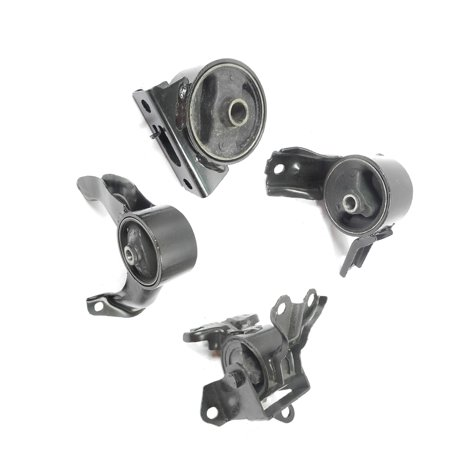 2007-2011 Dodge Caliber 2.4L Engine Motor & Trans Mount Set 4PCS for Manul Transmission without Turbo A5416, A5415, A5417, A5419