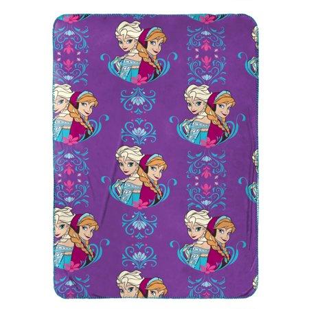 Frozen Elsa and Anna Travel Blanket by Disney (Hippo Travel Blanket)