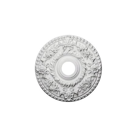 """18""""OD x 3 1/2""""ID x 1 1/2""""P Rose Ceiling Medallion (Fits Canopies up to 7 1/4"""")"""