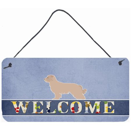 Carolines Treasures BB5522DS812 Pyrenean Shepherd Welcome Wall or Door Hanging Prints - image 1 de 1