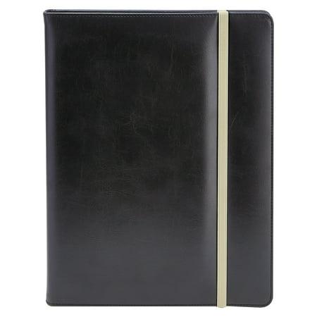 Vinyl Padfolio (Universal Padfolio, 8 1/2 x 11, Vinyl, Black)