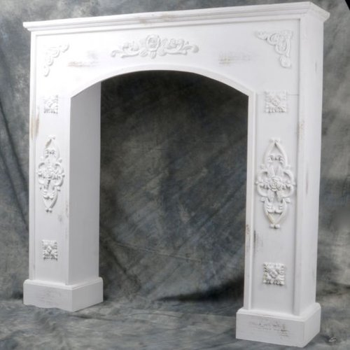 Mr. MJs Wooden Fireplace Mantel Surround