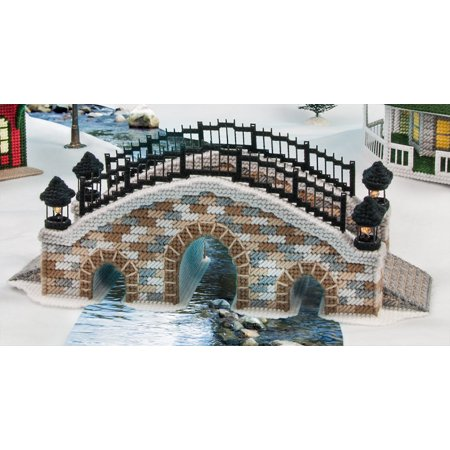 Mary Maxim Arched Bridge Plastic Canvas Kit