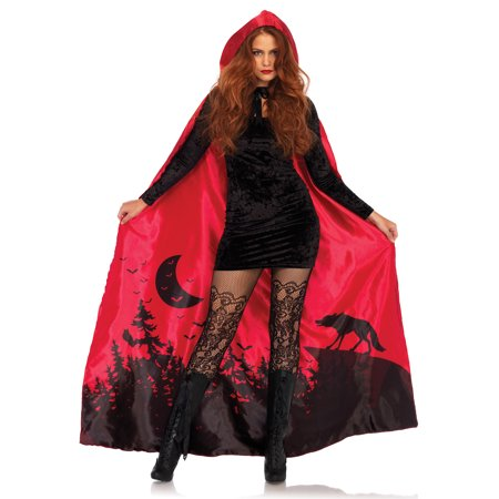 Satin Storybook Cape Costume
