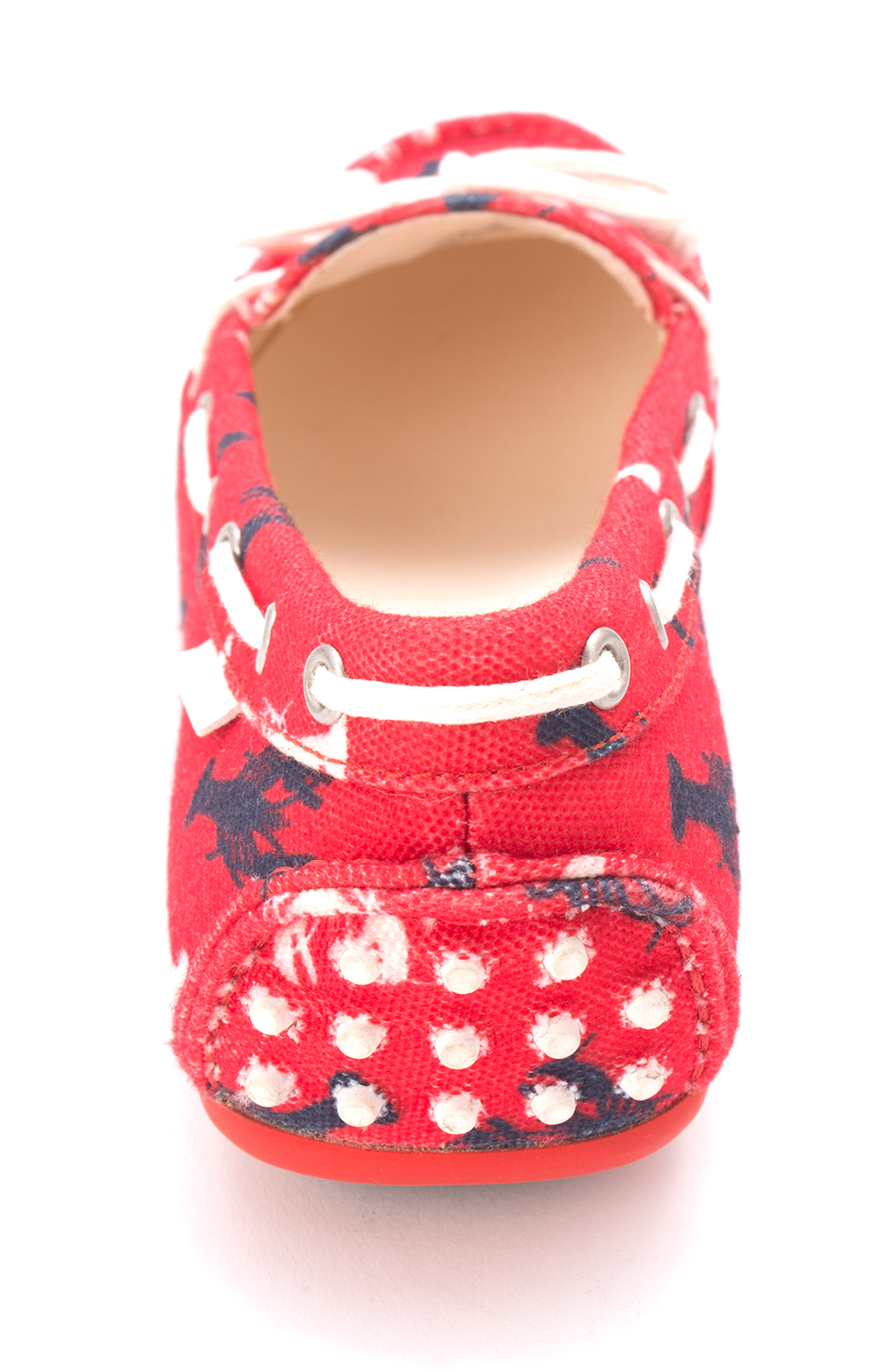 Cole Haan Womens Aviannasam Closed Toe Boat Shoes, Red, Size 6.0