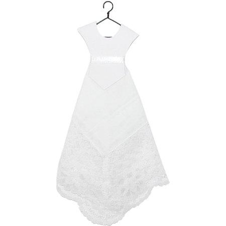 CTM®  Wedding Dress Handkerchief (Women's) ()