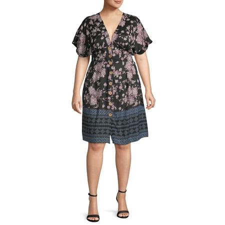 Romantic Gypsy - Romantic Gypsy Women\'s Plus Size Kimono ...