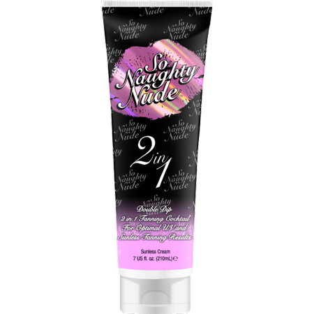 So Naughty Nude 2 In 1 Tanning Cocktail 7 oz.