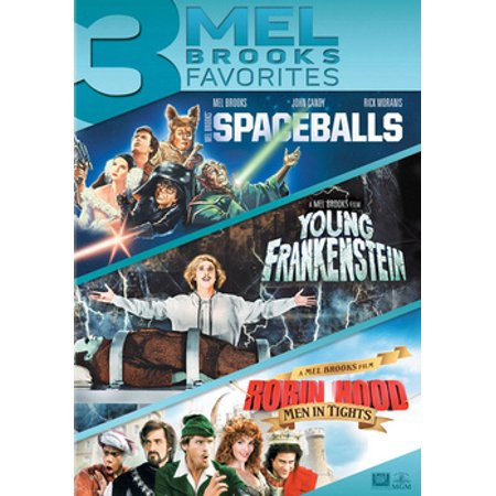 Spaceballs / Young Frankenstein / Robin Hood: Men in Tights (DVD) - Robin Young Justice