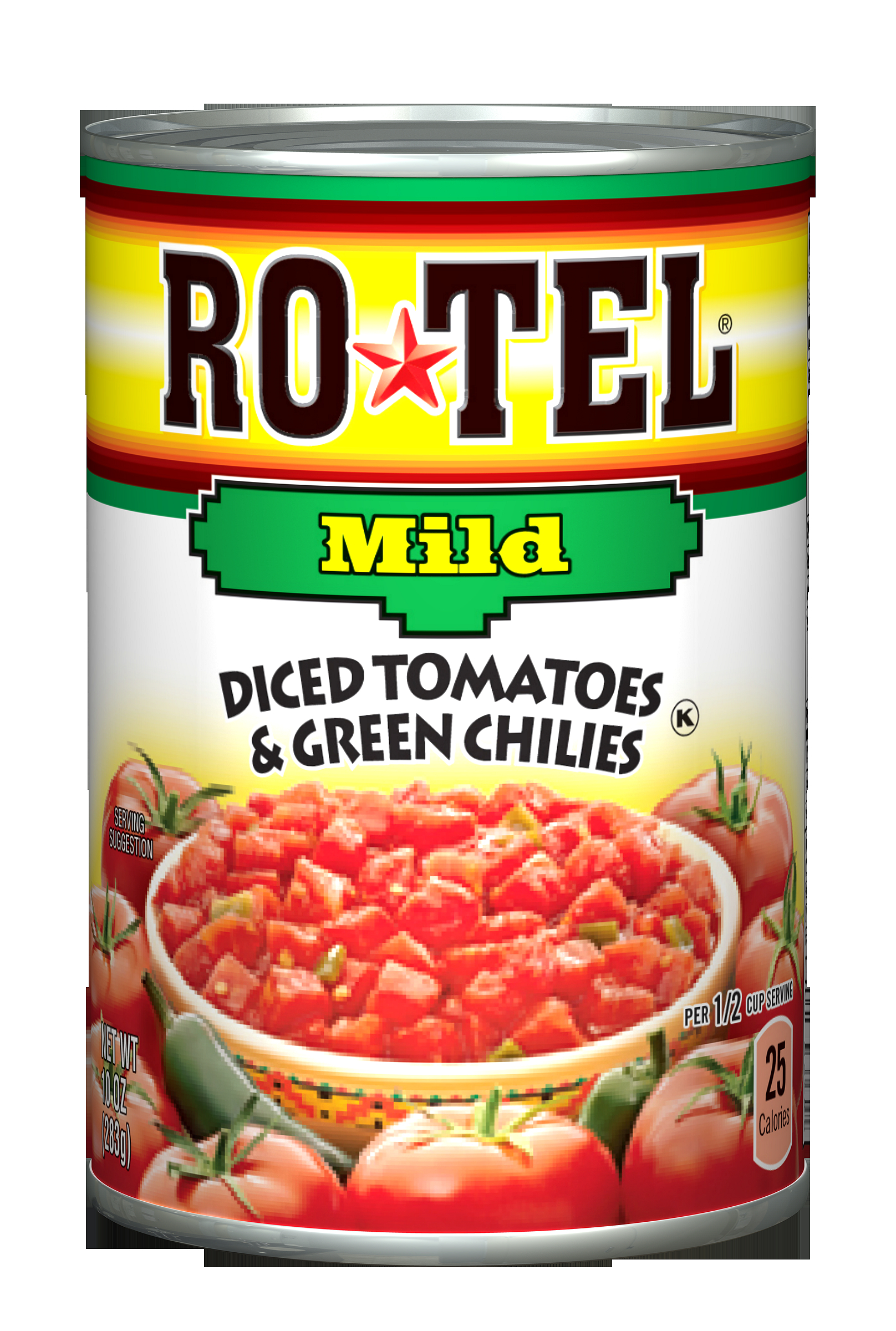 Ro*Tel Mild Diced Tomatoes & Green Chilies, 10 Oz by Conagra Brands