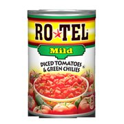 Ro*Tel Mild Diced Tomatoes & Green Chilies, 10 Oz