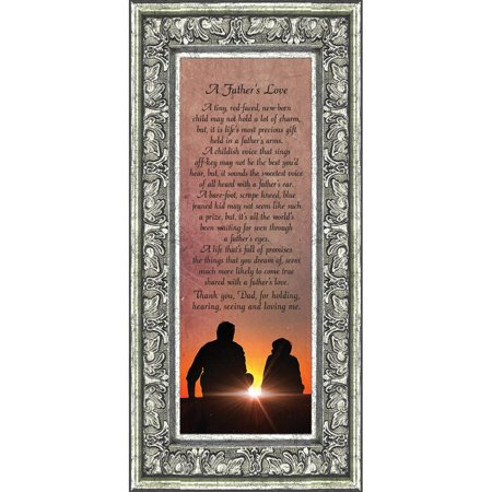 A Fathers Love Dad Gifts Daddy For Daughter 6x12 7339