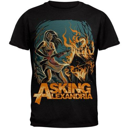 Asking Alexandria   I Am Not Insane Soft  T Shirt