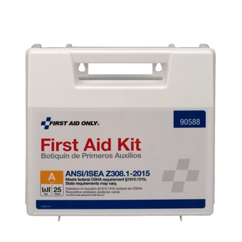 First Aid Only 89-Piece Plastic First Aid Kit