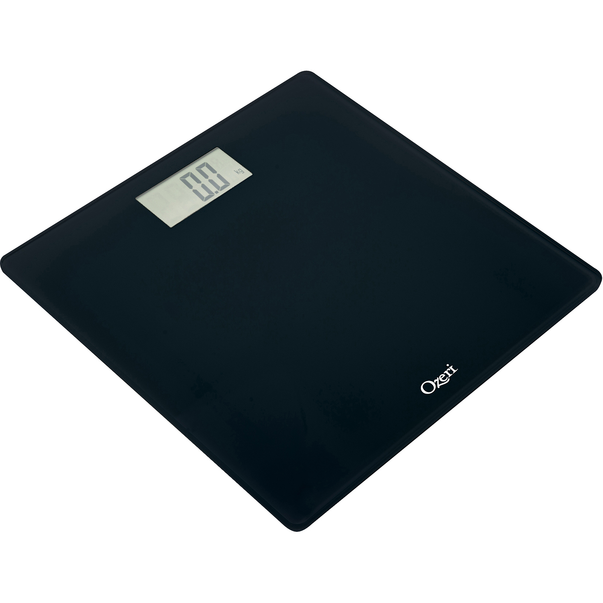 Retro bathroom scales - Ozeri Precision Digital Bath Scale 400 Lbs Edition In Tempered Glass With Step On Activation Walmart Com