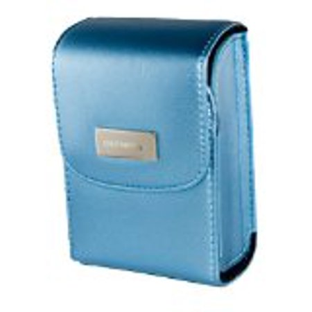 Olympus Satin Camera Carrying Case With Magnetic Closure Metallic Blue - OLYCCBU