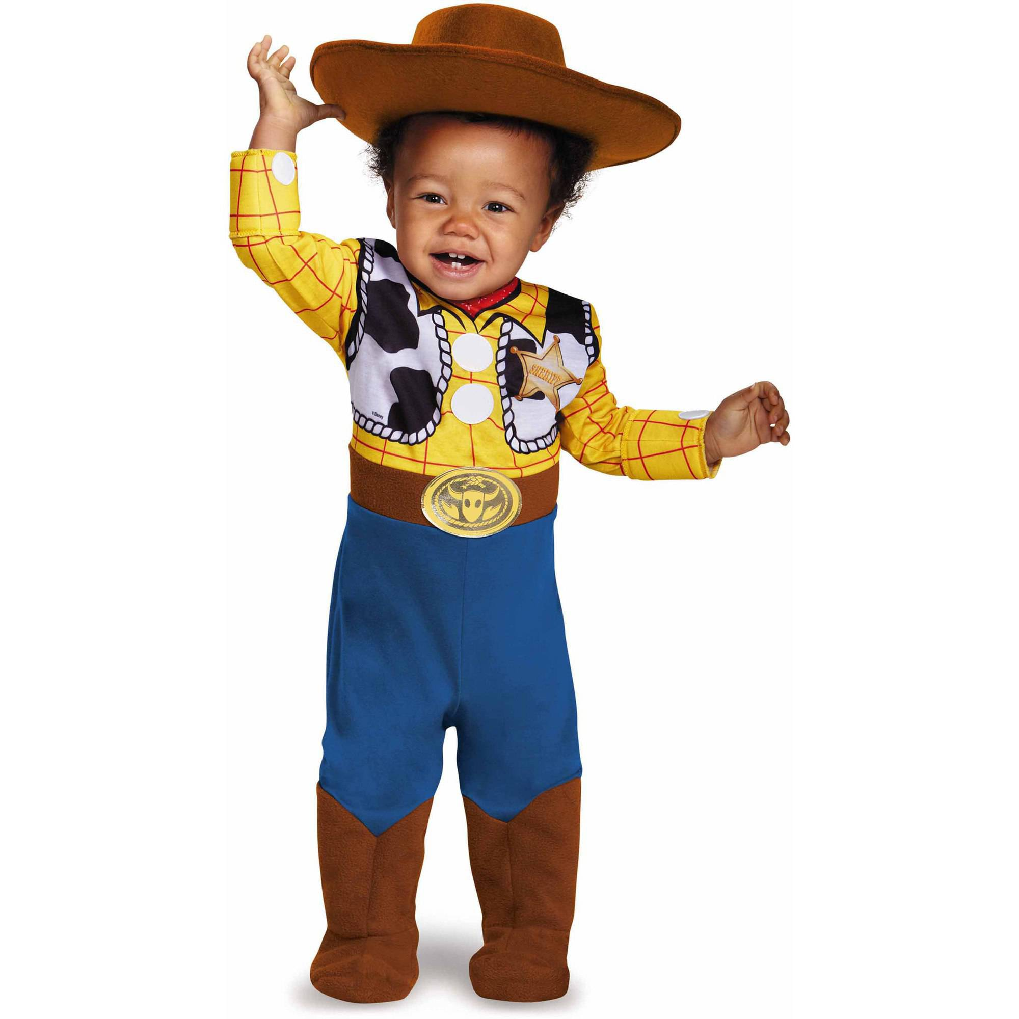toy story infant woody deluxe costume walmartcom - Infant Football Halloween Costume