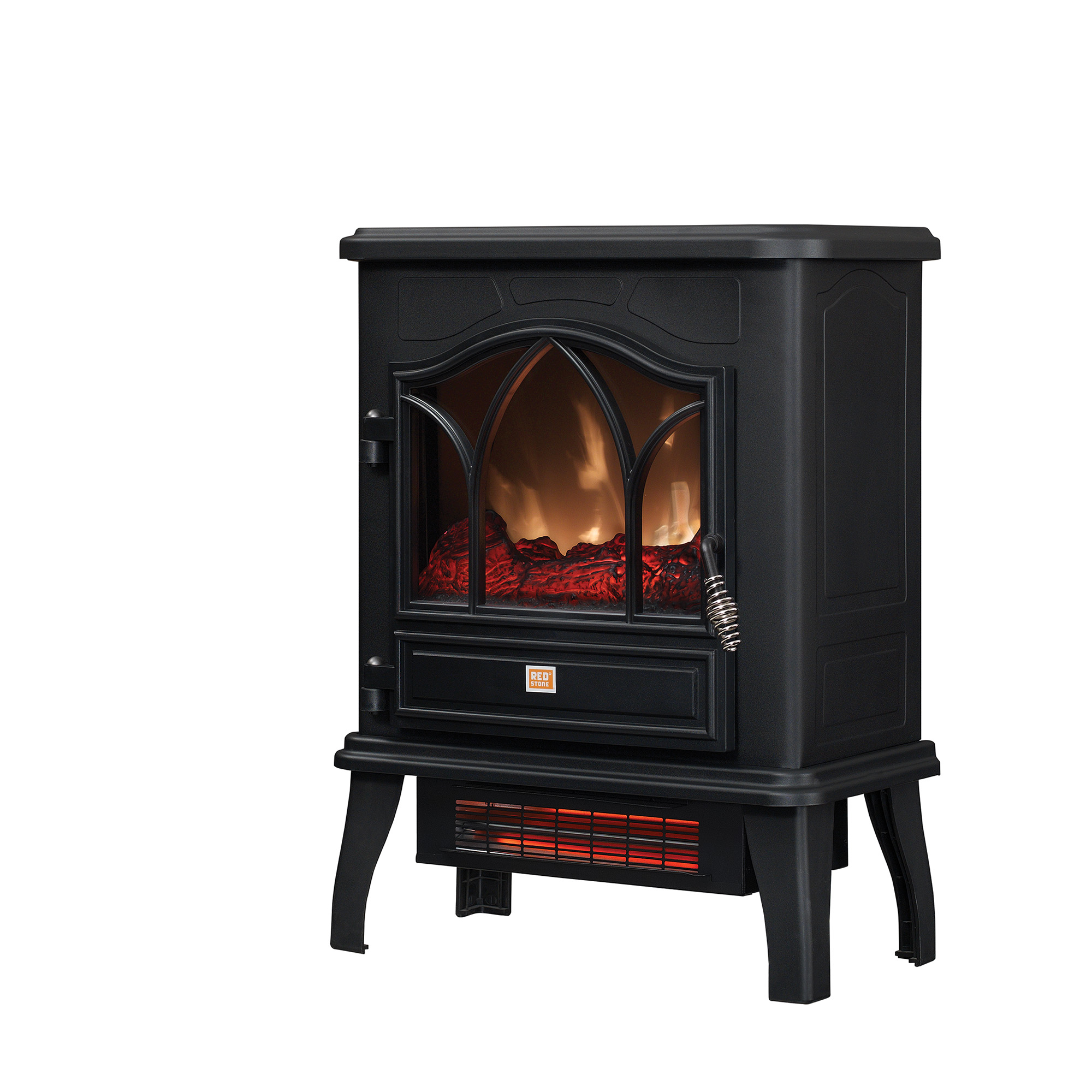 ChimneyFree Electric Metal Stove Space Heater; CFI-470-02 by Twin-Star International, Inc.