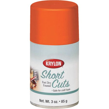 Krylon Short Cuts Spray Paint Glow Orange