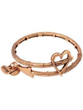 Alex And Ani Cupid's Arrow Wrap Rafaelian Gold Bangle Bracelet V17W02RG