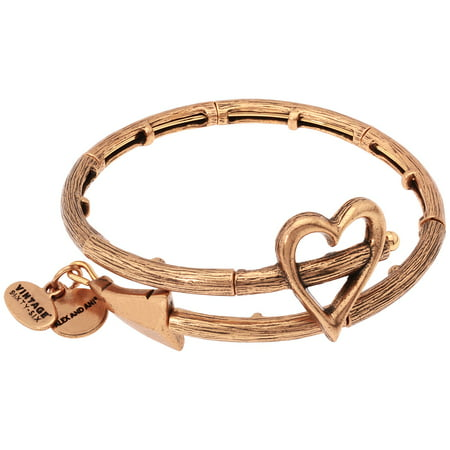 Alex And Ani Cupid's Arrow Wrap Rafaelian Gold Bangle Bracelet V17W02RG