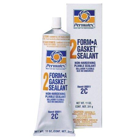 Permatex Gasket Sealant - Permatex Form-A-Gasket Sealants, No 2, 11 oz Tube, Black