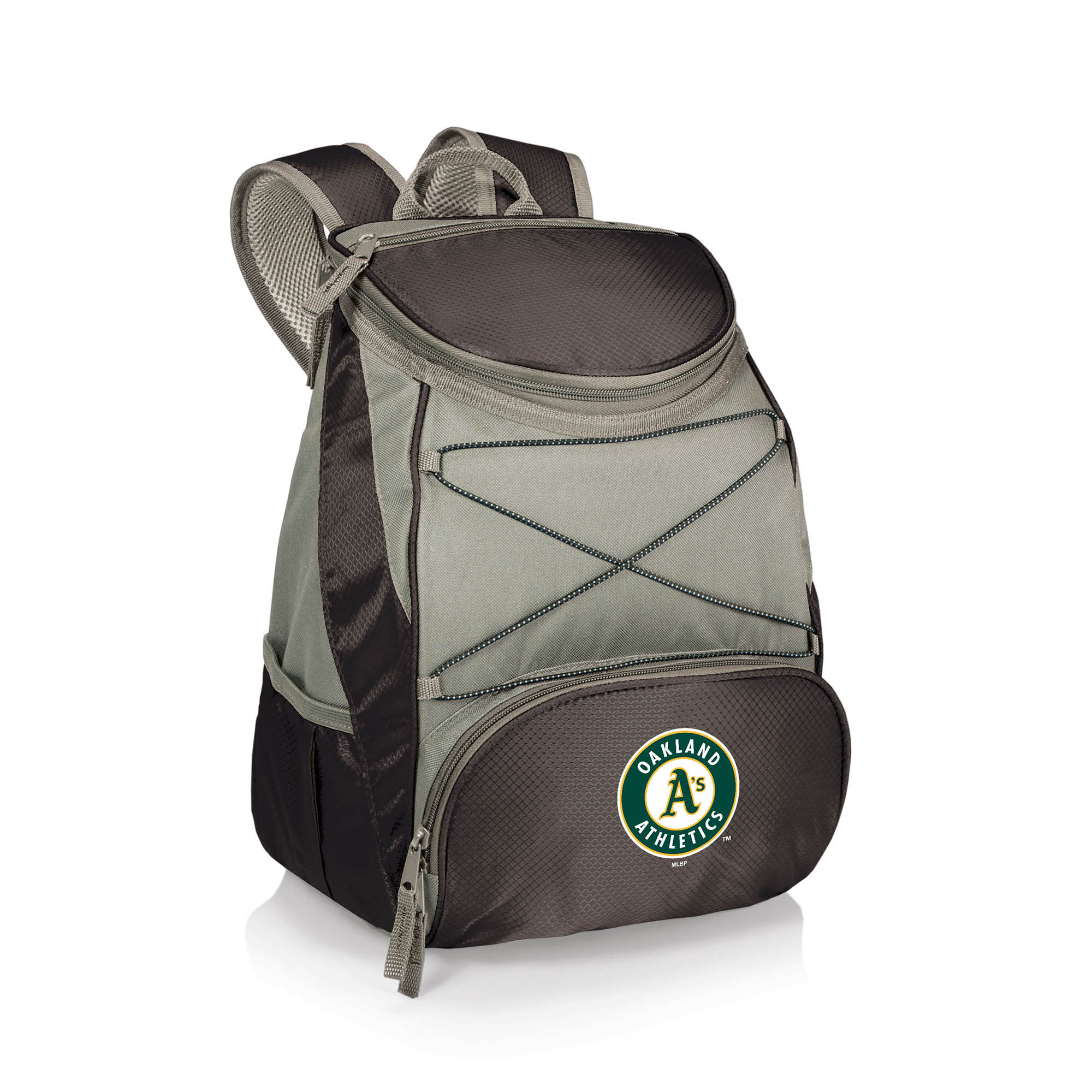 Oakland Athletics PTX Backpack Cooler - Black - No Size