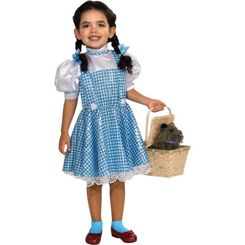 Rubies Wizard of Oz Dorothy Sequin Dress Toddler Halloween Costume