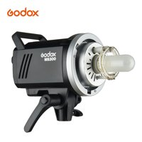 Godox MS300 Studio Flash Strobe Light Monolight 300Ws Max. Power Built-in Godox 2.4G Wireless X System GN58 5600K with 150W Modeling Lamp Bowens Mount for Indoor Studio Product Photo Portrait Photogra