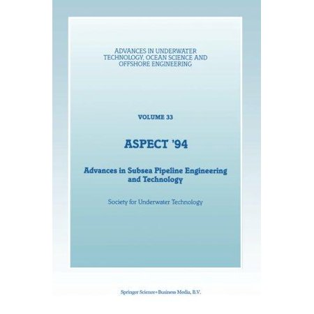 Aspect 94  Advances In Subsea Pipeline Engineering And Technology