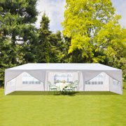 10' x30' Outdoor Canopy Tent w/8 Removable Sidewalls, Two Doors Heavy Duty Party Wedding Party Tent, Outdoor Canopy Party Gazebo Pavilion, Canopy Tent Sunshade Shelter w/Upgraded Tube Steel, S10460