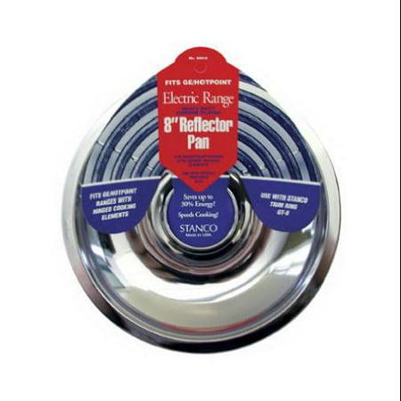 8 Chrome Reflector Pan (Electric Range Reflector Pan, Chrome, 8