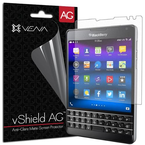 BlackBerry Passport Screen Protector - Vena vShield [Anti-Glare Matte] Anti-Scratch for BlackBerry Passport (3 Pack)