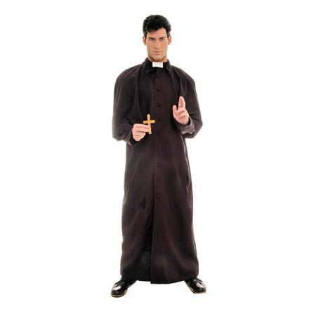 Woman Priest Costume (Men's Deluxe Priest Costume)
