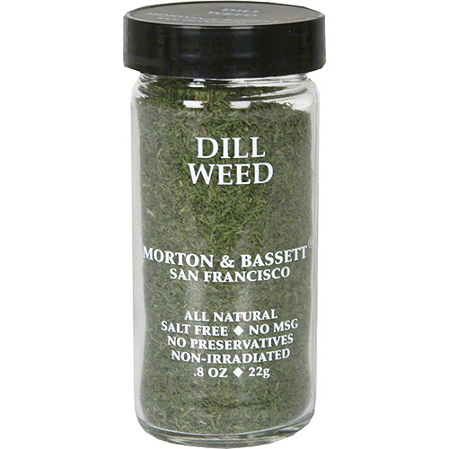 Morton & Bassett Spices Dill Weed, .8 oz (Pack of 3)
