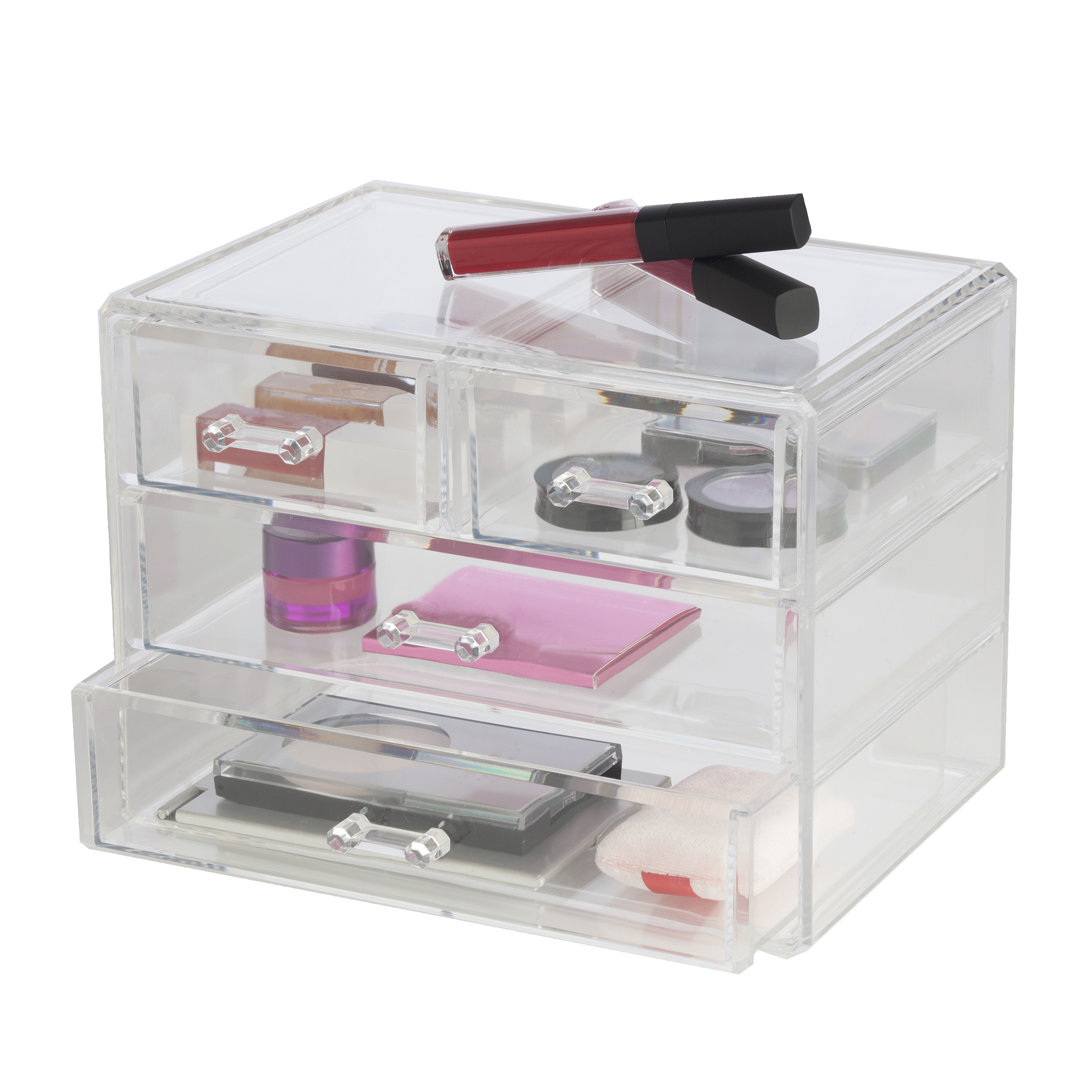 Clearly Chic 2 Drawer Cosmetic Organizer