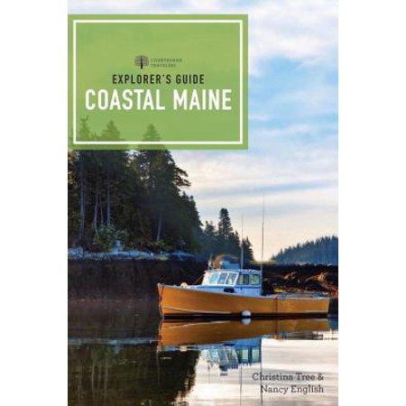 Explorer's Guide Coastal Maine: (Maine Mall Map)