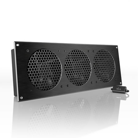 Ac Infinity Airplate S9 Quiet Cooling Fan System 18 With Speed Control For Home Theater Av Cabinet Cooling
