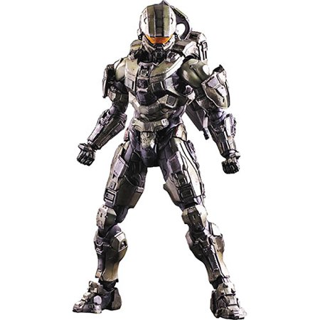 Halo 5: Guardians Play Arts Kai Master Chief Action (Halo 3 Master Chief 12 Inch Action Figure)