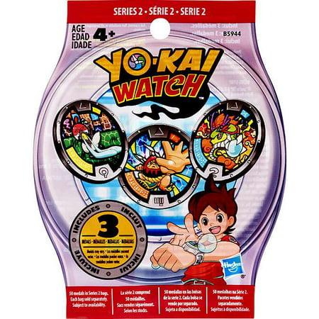 Yo-Kai Watch Series 2 YOKAI MEDALS Mystery Pack (Alumni Series Womens Watch)
