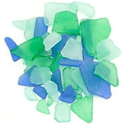 Sea Glass | Green Light Blue and Dark Blue | 11oz Sea Glass for Decor & Craft